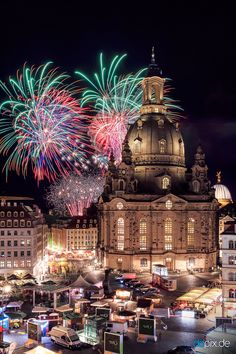 Beautiful Wallpaper Photo, Fireworks, Wonders Of The World, Barcelona Cathedral, Germany, Europe, Building, Photography, Travel