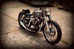 Harley Davidson FLH HighSlot ~ Return of the Cafe Racers
