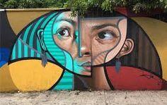 Resultado de imagen para murales psicodelicos de naturaleza