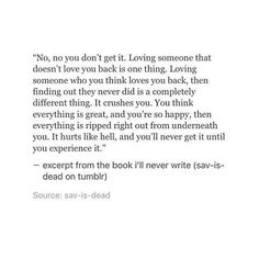 Sad Quotes About Letting Going And Moving On :@sadquotepage on Instagram: deep @excerptsofstories
