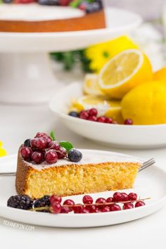 Thanks Reply Erin replies to ofelia maxenchs April 2019 @ pm I'm so sorry for just now seeing your question! I'm traveling and can't measure my Almond Flour Cakes, Almond Flour Recipes, Cake Flour, Gluten Free Sweets, Gluten Free Cakes, Gluten Free Baking, Lemon Recipes, Easy Cake Recipes, Dessert Recipes