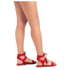 Women's Mavis Gladiator Sandals Merona - Red 7.5