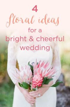 You'll LOVE these summer floral ideas! #weddingflowers #obsessed