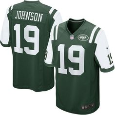 e29a4a07f4365 Keyshawn Johnson New York Jets Nike Retired Player Game Jersey - Green