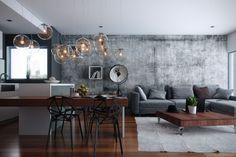 Modern loft with wonderful lights