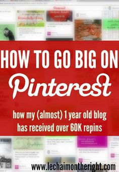 How to Go Big On Pinterest