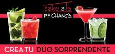 ¿Ya conoces nuestros cocktails preparados con exclusivo #SakeChangs? ¿Cuál es tu favorito?