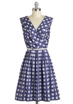 Kiss and Trellis Dress - ModCloth Mod Dress, Maxi Wrap Dress, Dress Up, Retro Vintage Dresses, Vestidos Vintage, Dress Outfits, Fashion Dresses, Party Outfits, Rock Outfits