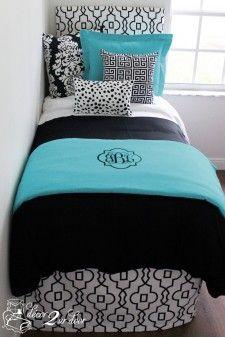 Teal Bedding On Pinterest