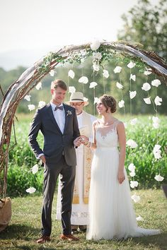 """""""Ladies and Gentlemen, I present to you Alexandra and Douglas Midland, husband and wife."""" 