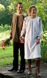 Black Forest Smock or a Kittlel. I love the men's shirt. Folkwear Pattern #148