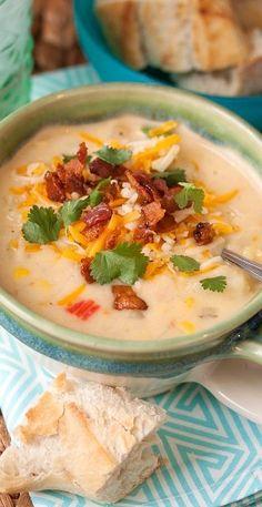 Southwest Potato and Corn Chowder