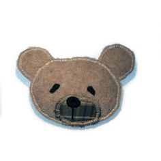 #Bear #Brooch // Bag Accessory, Personalize your backpack or purse with this bear. Made in Norway.