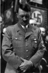 """Hitler ends a speech with """"let us pray"""". Description from kozmopolitaydinlar.wordpress.com. I searched for this on bing.com/images"""