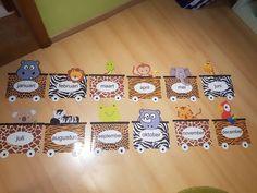 Preschool Birthday Board, Birthday Bulletin Boards, Safari Theme Birthday, Birthday Wall, Birthday Display, Preschool Jungle, Preschool Themes, Jungle Theme Classroom, Classroom Themes
