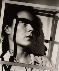 Gyorgy Kepes- Woman in cube, 1938 In Berlin, he was also invited to join the design studio of László Moholy-Nagy, the Hungarian photographer who had taught at the Dessau Bauhaus. When, in 1936, Moholy relocated his design studio to London, Kepes joined him there as well.