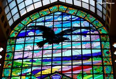 Mihai Manea © All rights reserved Do not use these photos without my permission Black Eagle, Art Of Glass, Lost Art, Glass Collection, Art Forms, Stained Glass, Louvre, Fair Grounds, Classy