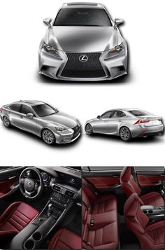 My Beautiful Baby!  2015 Silver Lexus IS 250 F Sport with Rioja Red Interior