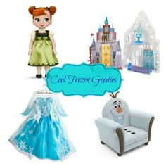 Cool Frozen Goodies!!  You are going to love all these Frozen dolls, books, outfits and more! Check them out #DisneyFrozenEvent #DisneyFrozen