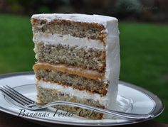 Cake Fixation: Banana's Foster Cake Recipe