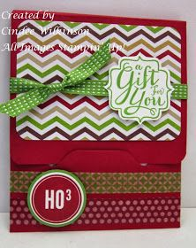 Just Sponge It: Stampin' Up! Envelope Punch Board Class