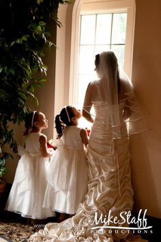 How sweet for the young girls to have for their own wedding years down the line.