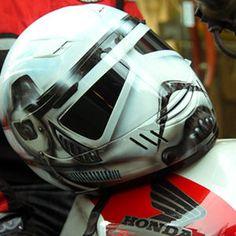 Starwars stormtrooper airbrushed custom motorcycle helmet DOT SPARX S-XXL