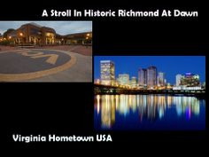 City of Richmond has been an independent city since few years  after the American Civil War (1861-1865).   The city is located on the historic James River.     Today Richmond, VA  it's an urban cluster of over 200,000 people and center of Richmond Metropolitan Hub.