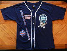 Seattle Mariners 1995 Jersey, Taz