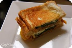 Crazy Cooking Challenge | Jalapeno Popper Grilled Cheese Sandwich Recipe - Simply Stacie