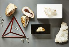 The Find: Geodes, Gilt & Geometric Accents