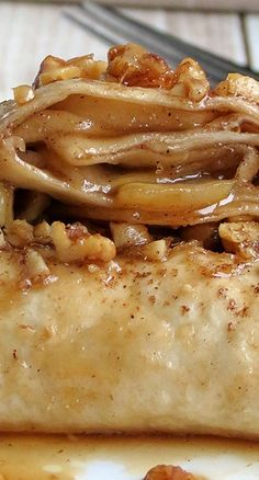 Apple Enchiladas ~ incredible yumminess