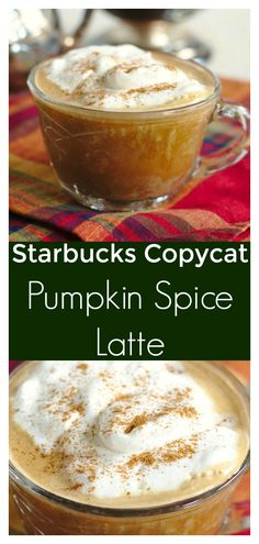 Pumpkin Spice Latte Starbucks Copycat - Save Money And Make This Starbucks Copycat Recipe At Home Made With Just A Few Simple Ingredients And It Tastes Delicious Starbucks Copycat Recipe Pumpkin Spice Latte Recipe Homemade Pumpkin Spice Latte Homemade Pumpkin Spice Latte, Starbucks Pumpkin Spice Latte, Pumpkin Spiced Latte Recipe, Pumpkin Recipes, Fall Recipes, Pumpkin Drinks, Starbucks Coffee, Recipes Dinner, Potato Recipes