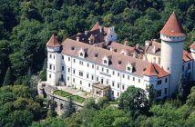 Chateau Konopiste en Bohème centrale près de Prague