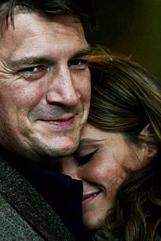 Nathan Fillian (Richard Castle) and Stana Katic (Kate Beckett) Castle Series, Castle Tv Shows, Castle Abc, Best Tv Shows, Best Shows Ever, Favorite Tv Shows, Criminal Minds, Chicago Fire, Ncis