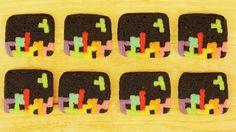 Tetris cookies by Rosanna Pansino
