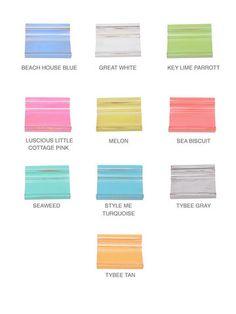 Jane Coslick pastels for her cottages