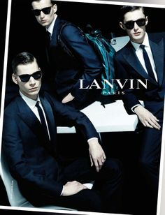 before you kill us all: AD CAMPAIGN Lanvin Men's Spring/Summer 2014 Feat. Jeremy Matos, Laurie Harding & Alexander Faye by Steven Meisel