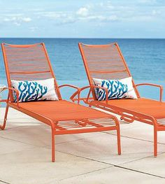 Spend one sun-splashed day after the next in the chic, stackable Belize Outdoor Chaise Lounge. The same sleek and brightly colored haven you might encounter on a tropical getaway, made for your own backyard.