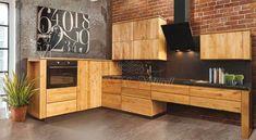 ochwertige Küche aus Massivholz edler Eiche