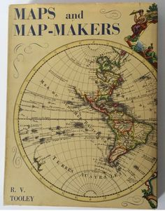 Maps and Map-makers book, book about maps, vintage map book, RV Tooley, hardcover book, geography, map illustrations, educational book by SweetVintageRoad on Etsy https://www.etsy.com/listing/496587343/maps-and-map-makers-book-book-about-maps