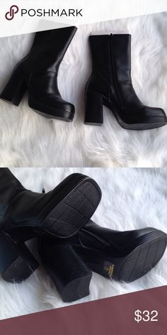 Platform boots NWT. Early 2000s1990sBritney ...