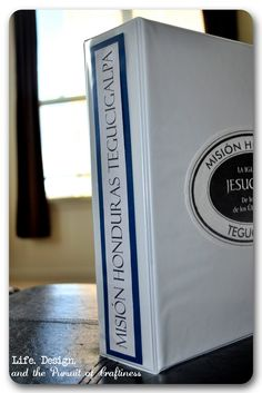 LDS Mission Book. I need to make this for my hubby