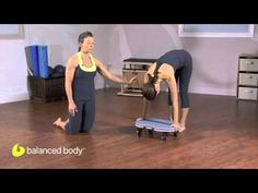 Portia Page shows how to use the Orbit to do the classic Pilates exercise Elephant & Snake, but without the reformer.