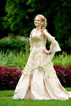 Medieval wedding dresses, Fairy & Celtic wedding dresses by Rivendell Bridal in the UK. Keywords: #medievalweddings…