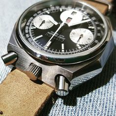 Watch of the Day Black and White . Citizen Bullhead Octagon from Decemeber This has been restored to original condition and serviced by Brian Lieser aka Mechanical Watch, Automatic Watch, Wristwatches, Seiko, Citizen, Omega Watch, Chronograph, Rolex