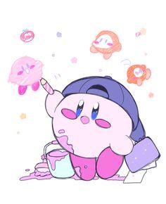 Star Kirby by Graffiti Storage
