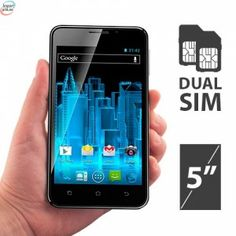 I-Joy Icall Android Smart Telefon Med Dual Sim kr 1 Sims 5, Android, Dual Sim, Smartphone, Joy, Original Gifts, Glee, Being Happy, Happiness