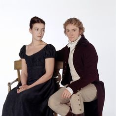 Olivia Williams and Raymond Coulthard as Jane and Frank in Emma 1996 BBC (the better version in my opinion)