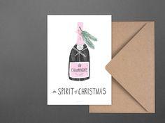 Weihnachten - Weihnachtskarte / Spirit of Christmas No. 1 - ein Designerstück…